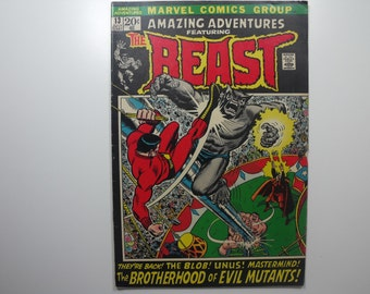 Amazing Adventures No.13 featuring the BEAST(1972)