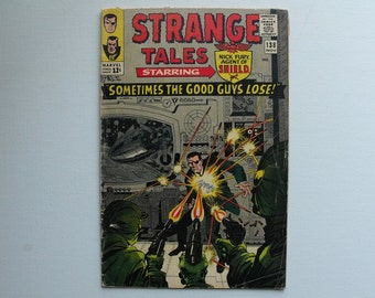Strange Tales No.138 featuring the original Nick Fury of SHIELD (1965)
