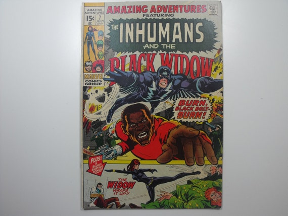 Amazing Adventures No. 7 featuring the INHUMANS (1971)