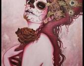 Dia de los Muertos - Red Woman