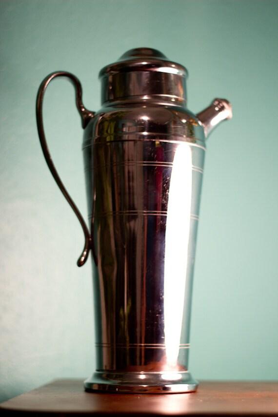 Giant Vintage Mid Century Farberware Cocktail Shaker