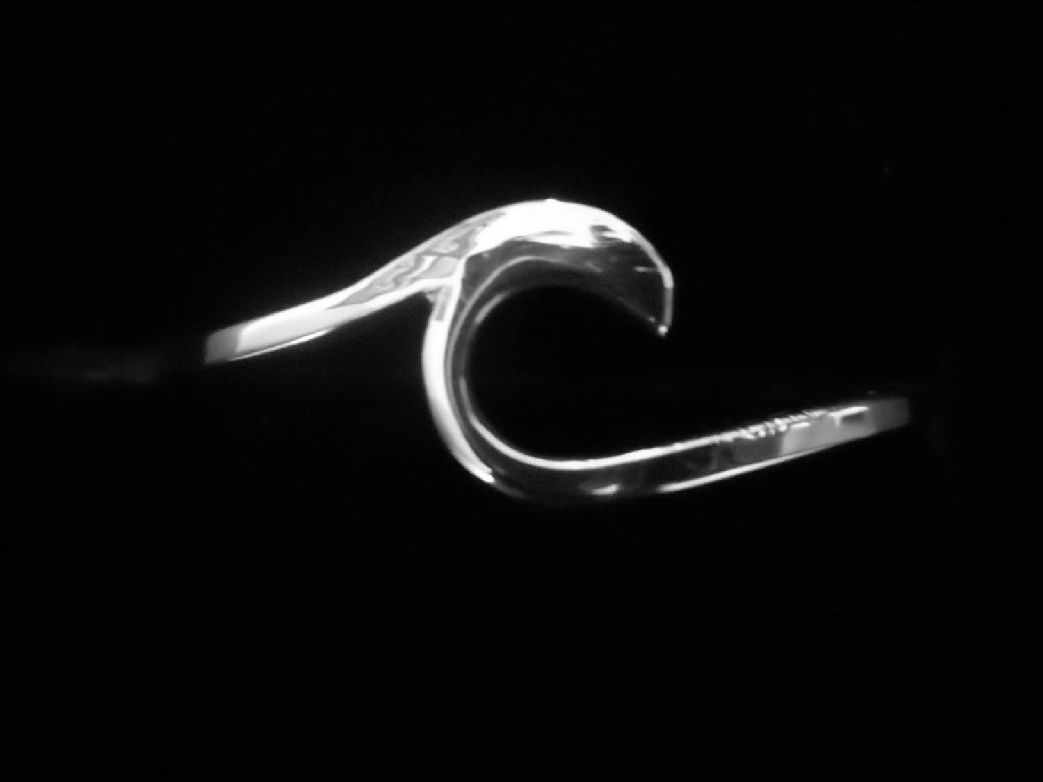 items similar to wave ring sterling silver ring wave ring