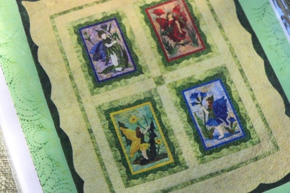 The Flower Fairy Quilt  Pattern