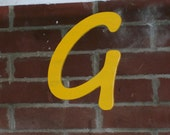 Wood Letter Painted 12 Inch Choice of Font and Color