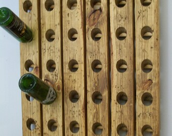 Wine Rack Pier 1 Style Antique Riddling Rack Wood Wall Hanging
