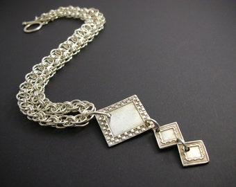 Chain Mail And Fine Silver