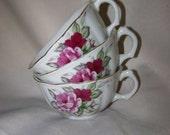 Rose Teacups Japan