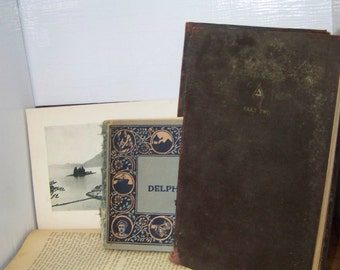 1930s Delphian Society Book Set