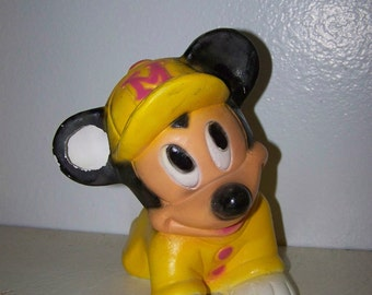 Mickey Mouse Bank Vintage Mickey Bank Mickey Mouse Figurine