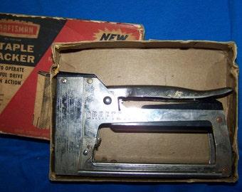 Craftsman Stapler Tacker Vintage Tools Craftsman Tools