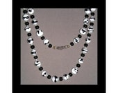 ON SALE, Vintage Venitian Murano Bead Necklace
