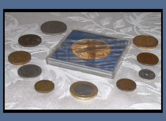 Old Coins, Variety for Crafts Collages, Steampunk