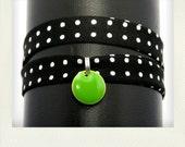 Bracelet Lily noir
