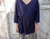 RESERVED: Vintage ANN DEMEULEMEESTER Cotton Wrap T