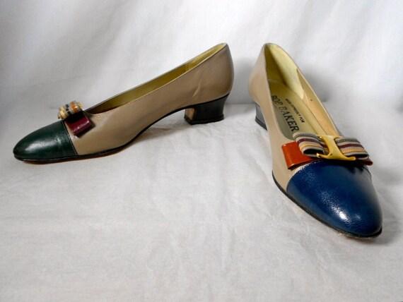 1980s BOB BAKER Mismatch Shoes Size 9