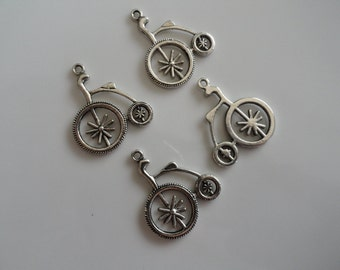 CLEARANCE Bicycle Charm (10) Tibetan Silver 1 Inch