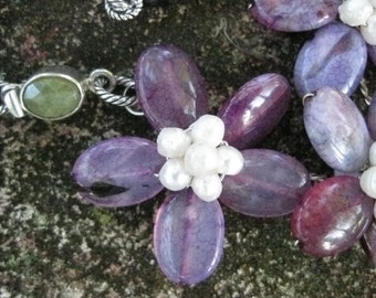 Viola, Viola - Marry Me Necklace - Amethyst and Sterling Silver