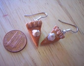 Pumpkin Pie Earrings - Thanksgiving jewelry - Smells sweet