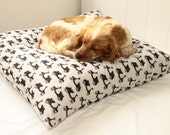 Kitsch Moped Flanelette Dog Bed Cover