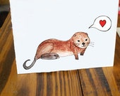 You Are Otterly Adorable // Card
