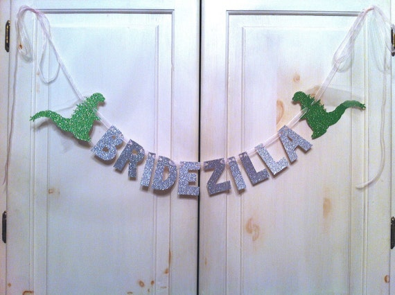 Bridezilla Banner -- Bridal Shower or Bachelorette Party Decoration / Photo Prop