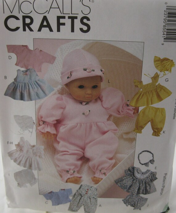Doll Clothes Pattern by McCall's