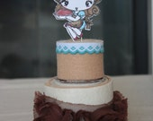2 Tier Cake Pincushion