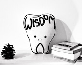 Wisdom Tooth - Screenprinted Pillow Plush Toy Cushion