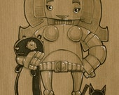 Custom Robot Portrait Service