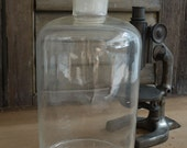 Apothecary Clear Glass Bottle