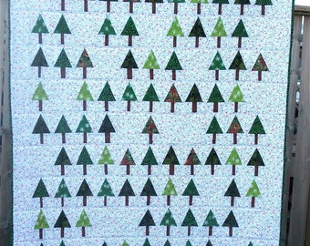 Christmas Forest Quilt