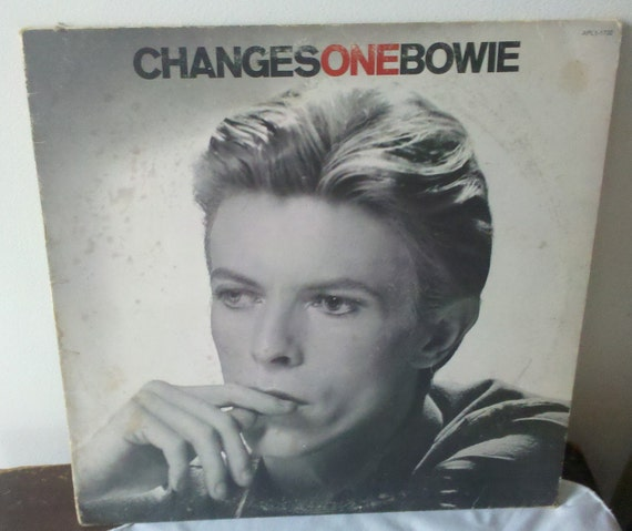 "Vintage Record David Bowie Changes One Rare 12"" Promo 1976 RCA Records APL1-1732"