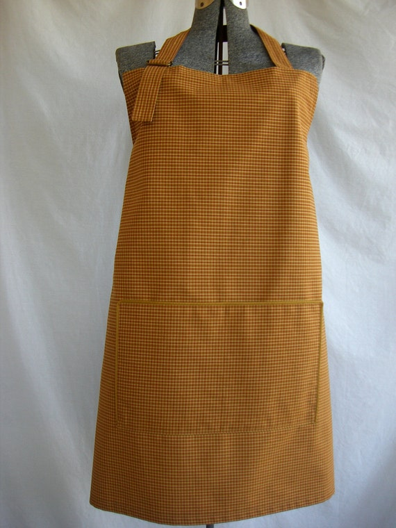 Apron Unisex BBQ Style Apron with Large Divided Pocket in Front~~~~~~ReADY To ShIP~~~~~~