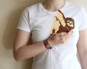 Sloth Shirt - Womens T Shirt -  Sloth T Shirt - Baby Sloth tee