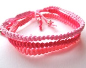 WHAMMY ...   Woven friendship bracelets
