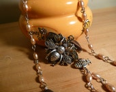 RESERVED FOR TRACEY - Pearls of Honeyed Bliss 5 Decade Rosary