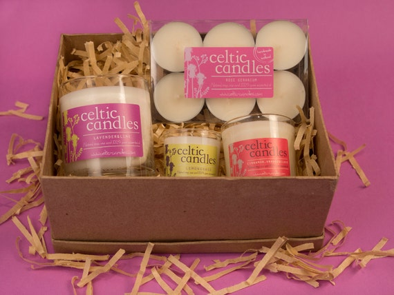 Candle Gift Box - various sizes and fragrances