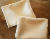 Standard size Baroque Satin Pillow Cases