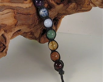 Reiki Keychain Stone Beads 100% of Purchase Price to Dogs Deserve Better