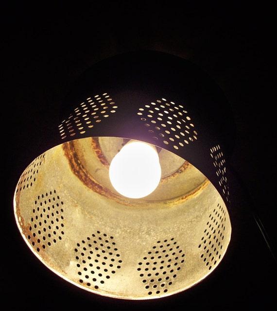 Minnow bucket pendant light, up-cycled lighting, farm style lighting