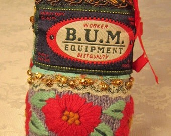 BUM Equipment OOAK Fiber Cuff Bracelet