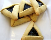 Hamantashen Hamantaschen or Hamentashen, for Purim - 12 cookies