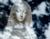 DIVINE MOTHER: Gaia Mary Sophia Statue Grotto Art Photography Print