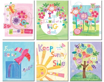 So Amazing - Inspirational wall cards for girls