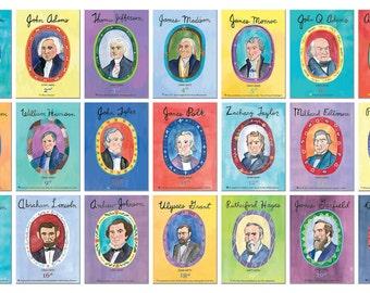 American Presidents - 44 Presidential portraits