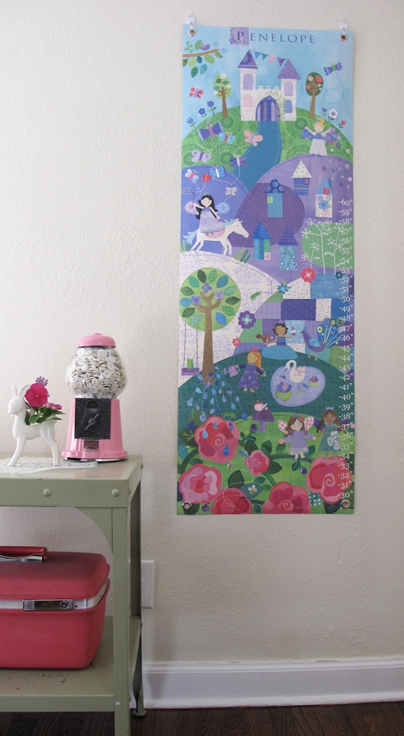 Enchanted - Personalized Canvas growth chart