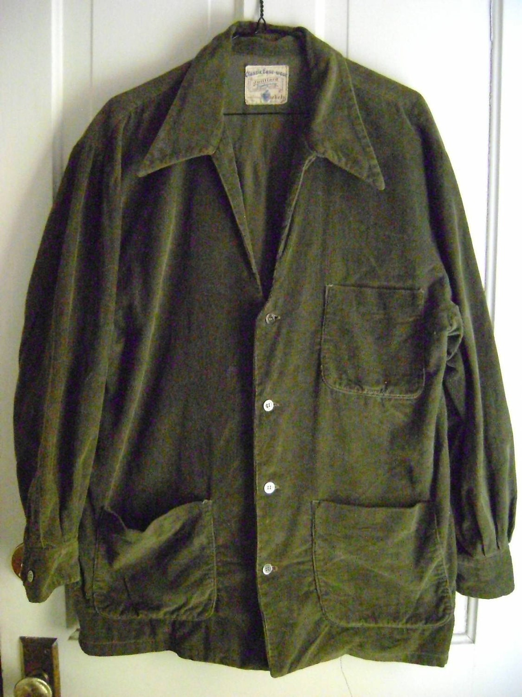 Olive Green Mens Shirt