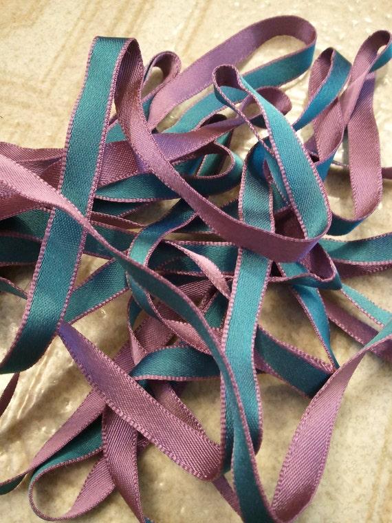Purple and Blue Ribbon