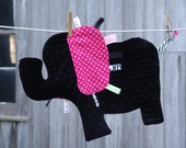 Elephant Tag Blanket - MADE TO ORDER