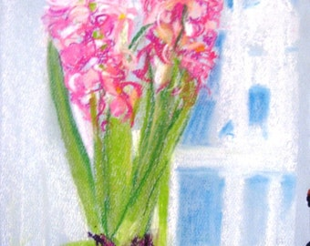 Series 2 hyacinth, full blossom
